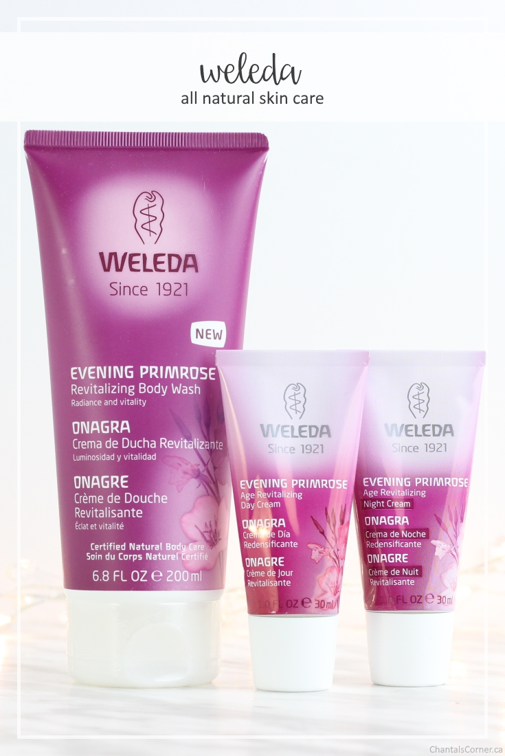 Weleda Evening Primrose All Natural Skincare