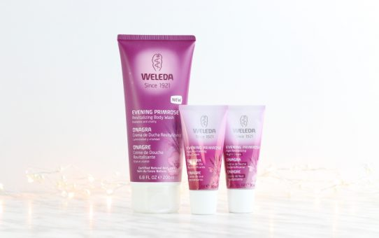 Weleda Evening Primrose face day night cream body wash