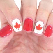 Celebrate Canada Day with Canadian Flag Nail Vinyls