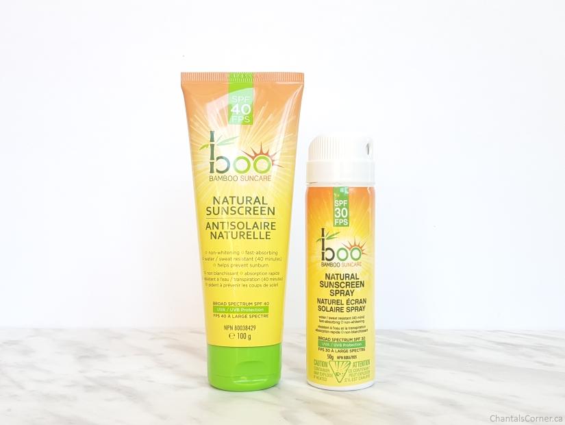Boo Bamboo Natural Sunscreens SPF 30 40