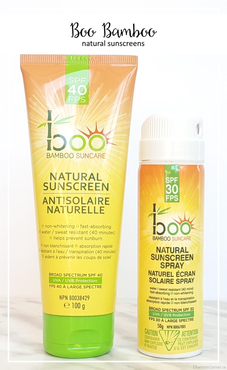 Boo Bamboo Natural Sunscreens