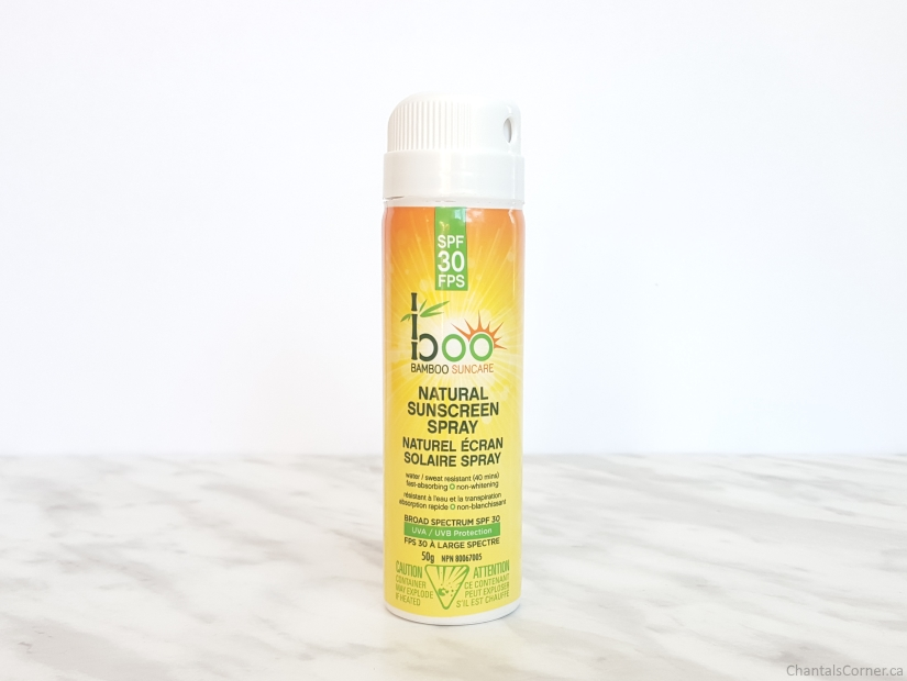 Boo Bamboo SPF 30 Natural Sunscreen Spray Mini