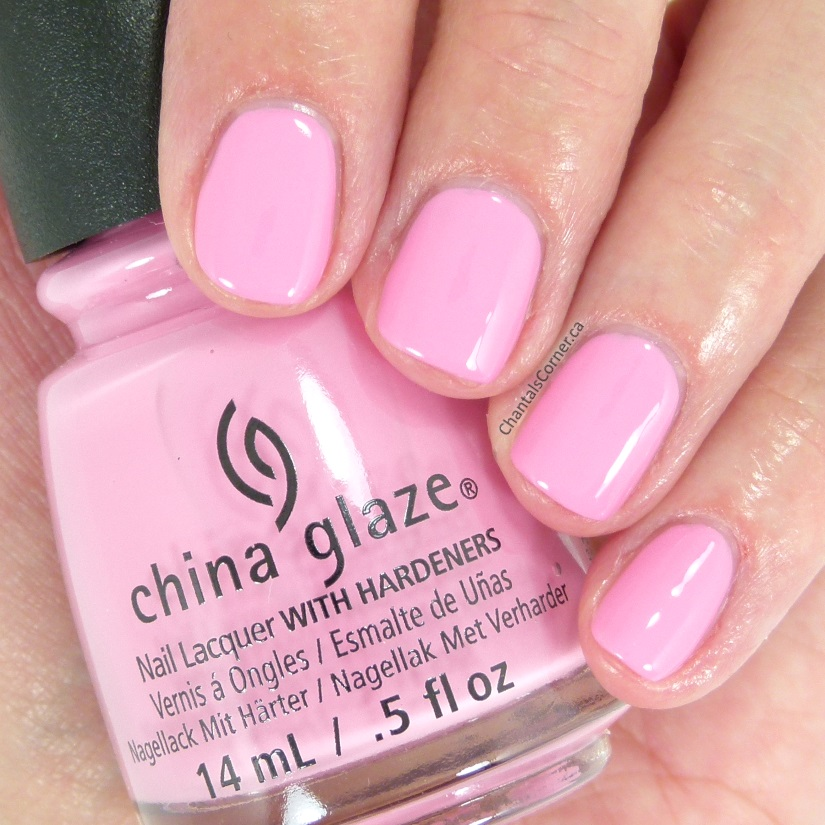 China Glaze Pastels Collection My Sweet Lady