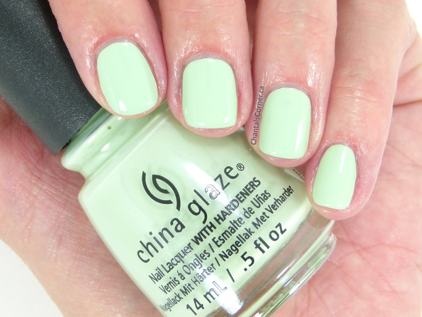 China Glaze Pastels Collection Spring Jungle