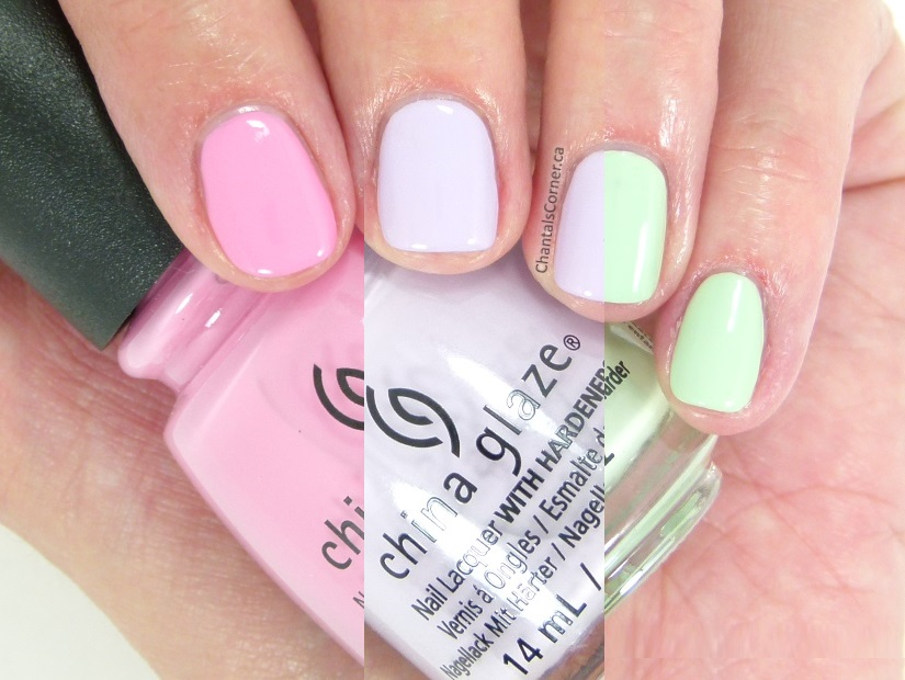 China Glaze Pastels Collection