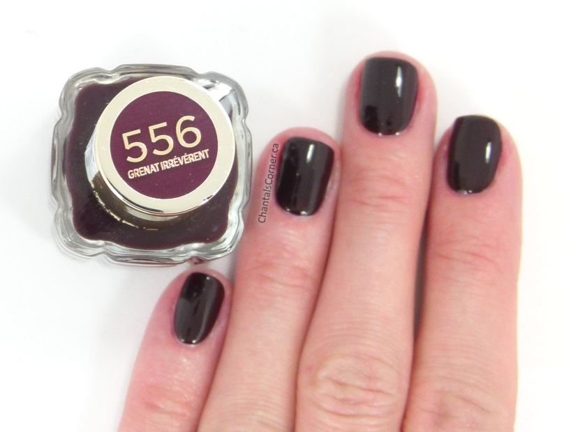 L'Oréal Nail Polish in Grenat Irrévérent