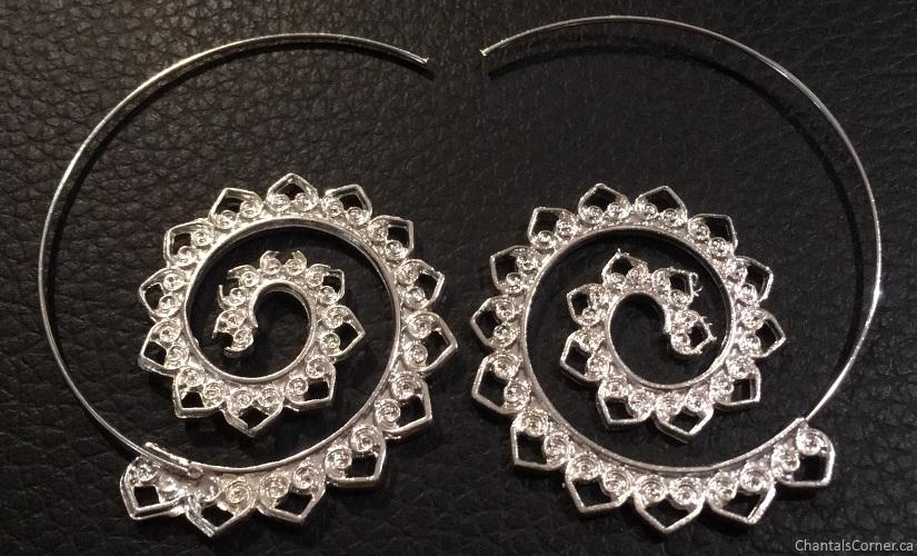 Grace Callie Designs Infinity Earrings