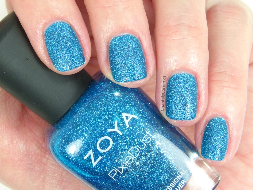 Zoya PixieDust Liberty Nail Polish Swatches Review