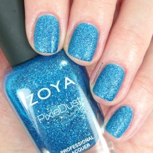 Zoya Pixie Dust Liberty Nail Polish Swatches Review