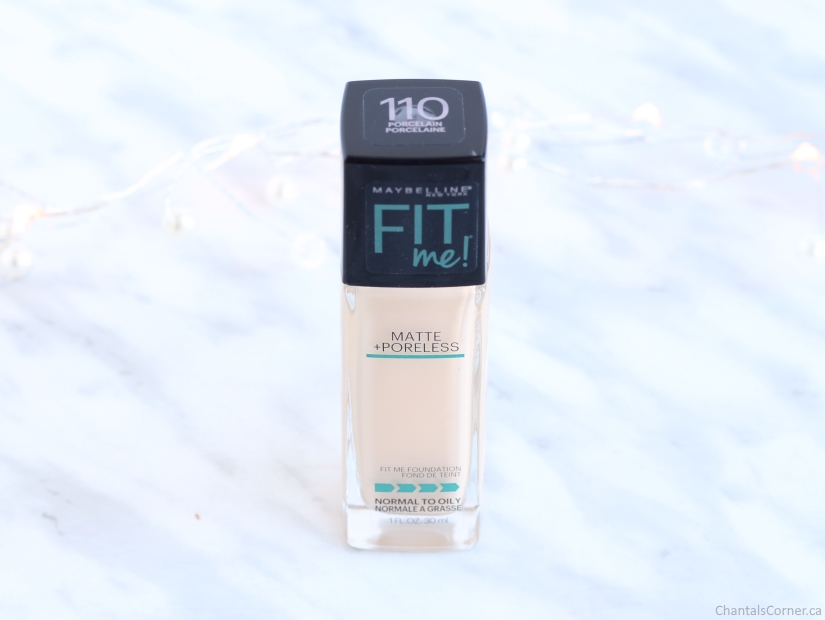 Maybelline Fit Me! Matte + Poreless Foundation 110 Porcelain