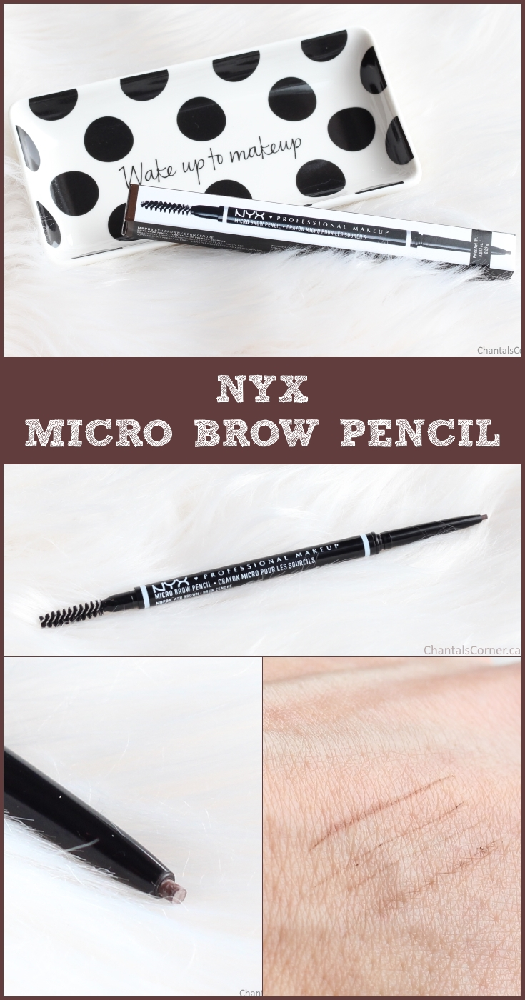NYX Micro Brow Pencil Ash Brown