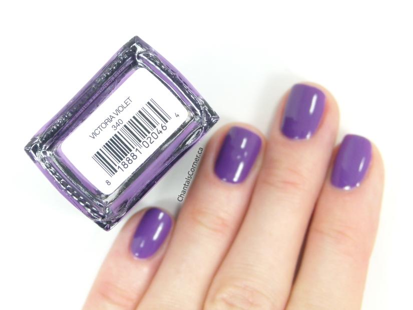 Prim + Proper nail polish Victoria Violet swatch
