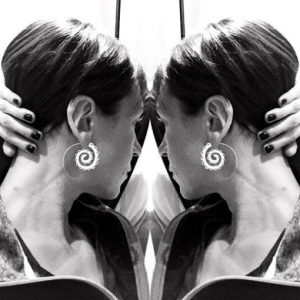 grace callie infinity earrings