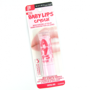 maybelline baby lips crystal kiss lip balm
