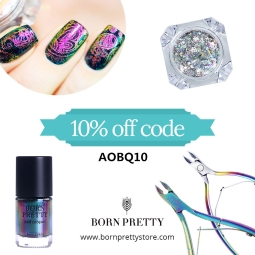 Get 10% off at BornPrettyStore.com with code AOBQ10