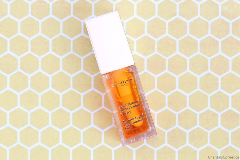 Clarins Instant Light Lip Comfort Oil in Honey