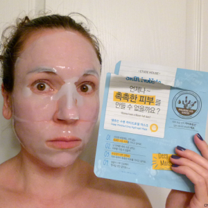 Etude House Skin Note Deep Moisturizing Hydrogel Mask