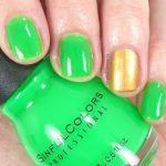 Sinful Colors nail polish Irish Green swatch review