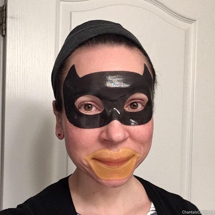 Etude House Honey Jelly Lips Patch & Black Hydrogel Eye Patch multimasking