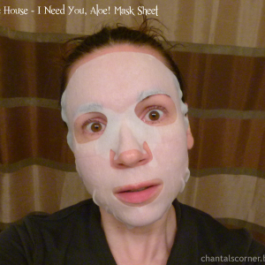 Etude House I Need You Aloe! Mask Sheet
