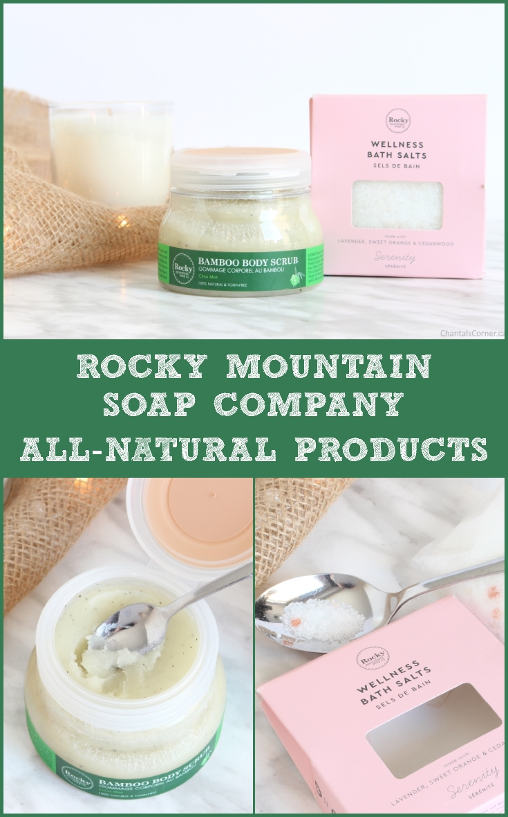 Rocky Mountain Soap Company all-natural products