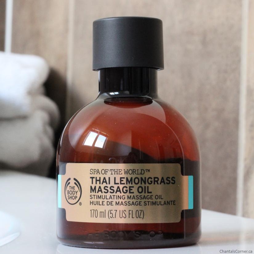 The Body Shop Spa of the World Thai Lemongrass Massage Oil