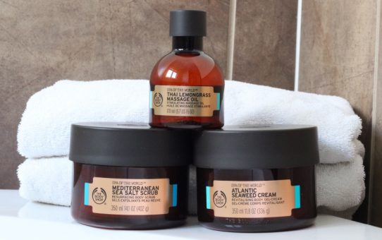 The Body Shop Spa of the World products review