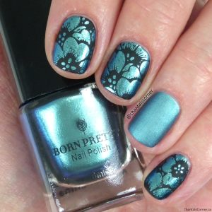 Born Pretty Stamping Nail Polish Moonlit Swatches Review