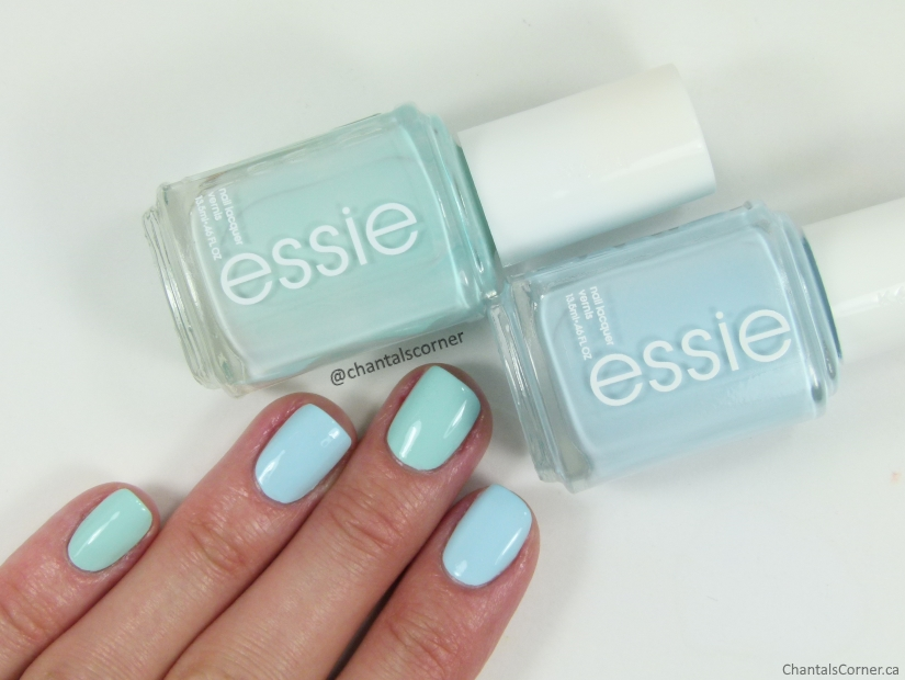 Essie Mint Candy Apple Comparison old formula vs new