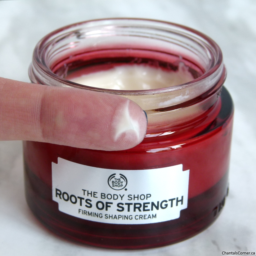 The Body Shop Roots of Strength Firming Shaping Cream