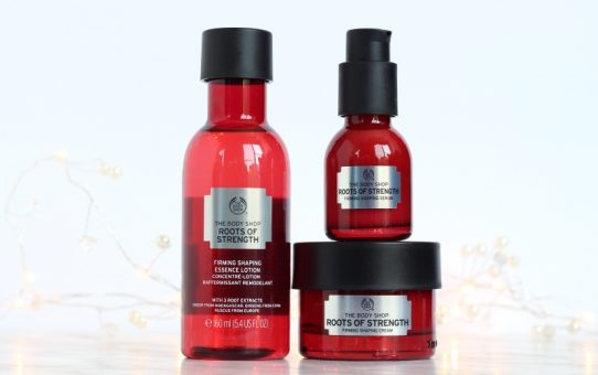 The Body Shop Roots of Strength products