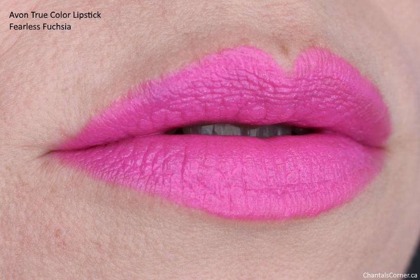 Avon True Color Lipstick fearless fuchsia