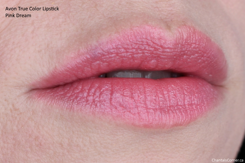 Avon True Color Lipstick pink dream