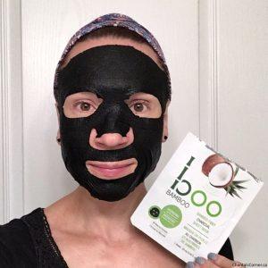 Boo Bamboo - Bamboo Fiber Charcoal Sheet Mask