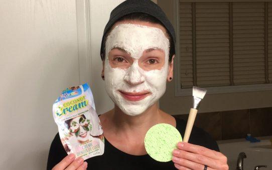 EcoTools Facial Mask Mates & 7th Heaven Coconut Cream Mask
