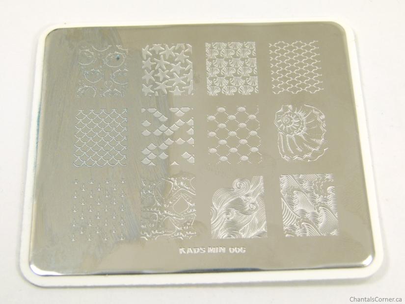 KADS min 006 stamping plate