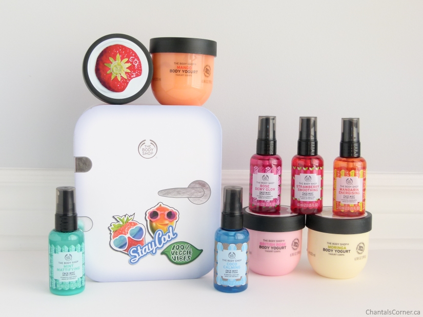 The Body Shop Body Yogurts Face Mists