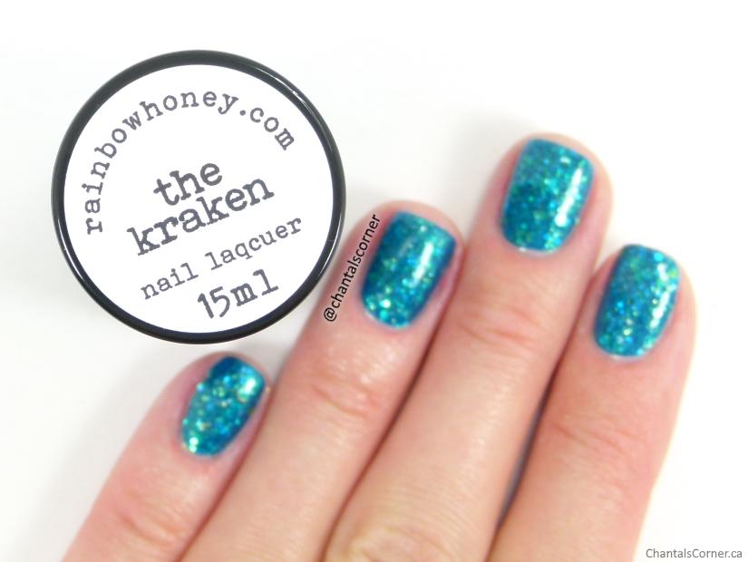 Rainbow Honey nail polish in The Kraken