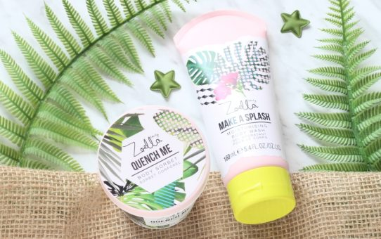 Zoella Splash Botanics Body Wash Body Sorbet