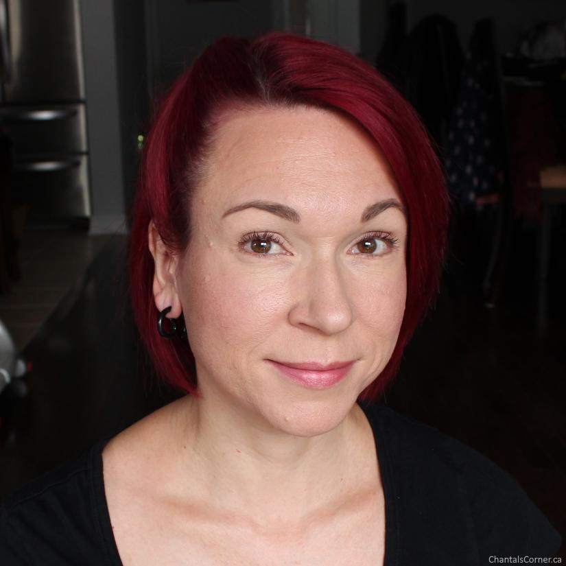 Elate Cosmetics makeup look