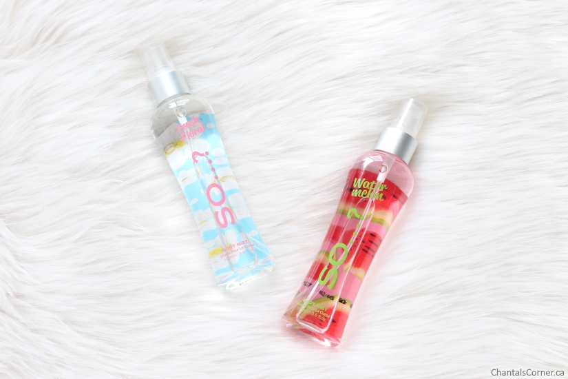 So...? Body Mists in Fresh Floral and Watermelon