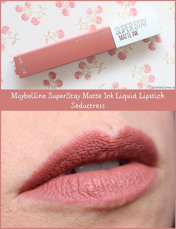 Maybelline Super Stay Matte Ink Liquid Lipstick in Seductress