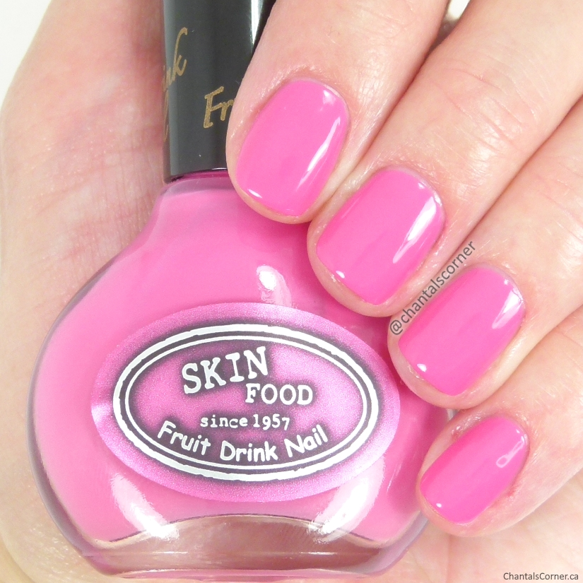 Skinfood Fruit Drink Nail Polish in NO.04 Lychee
