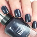 Sally Hansen Nail Polish in To the Moon and Black
