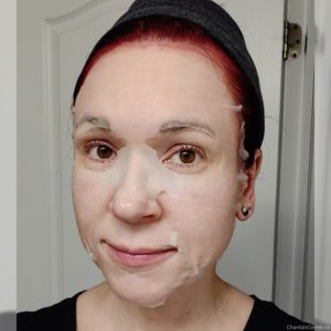 Body Drench Hydrating Sheet Mask selfie