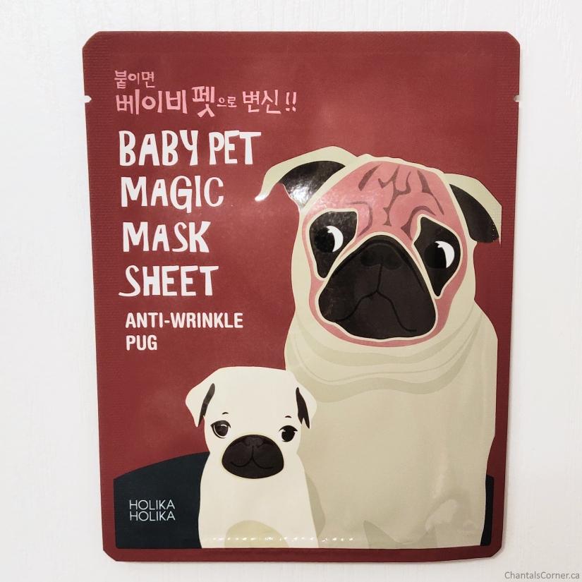 Holika Holika Baby Pet Magic Mask Sheet Pug