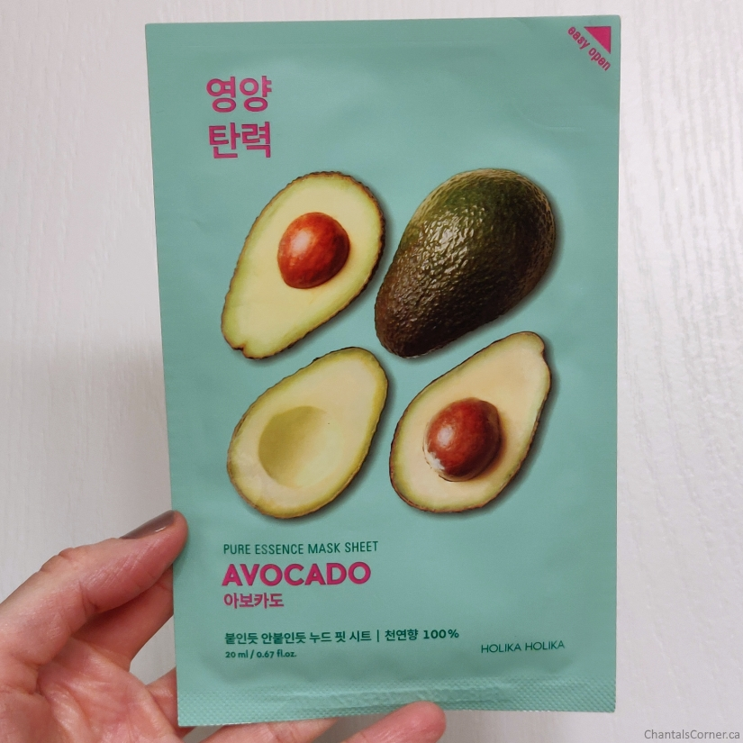Holika Holika Pure Essence Mask Sheet in Avocado
