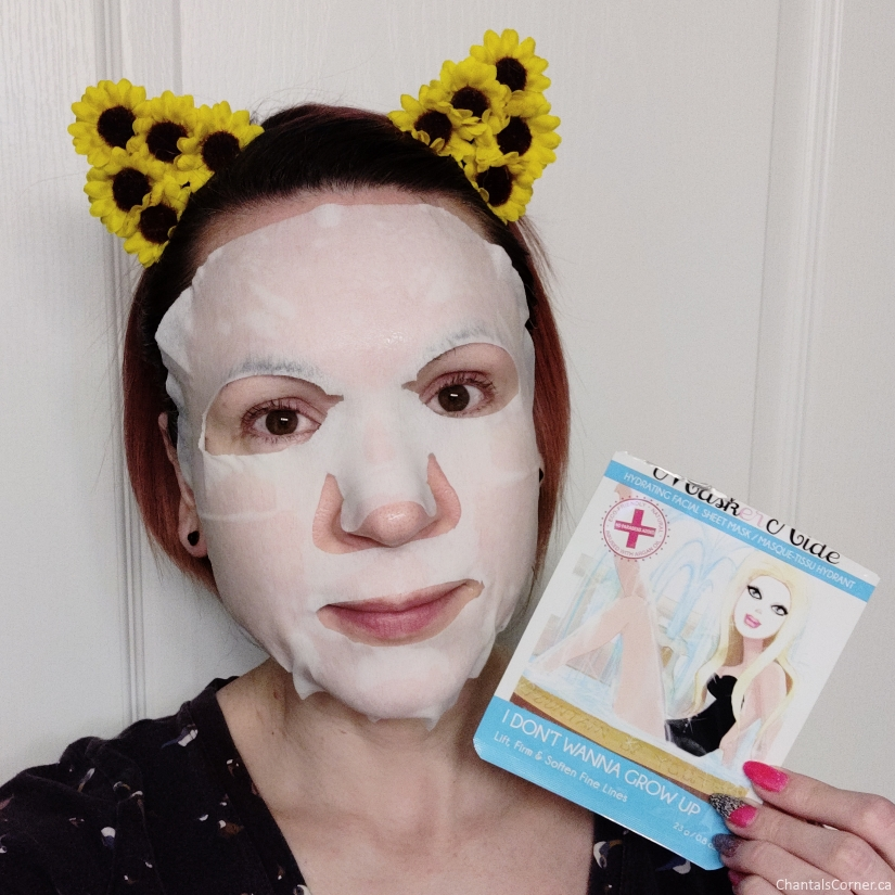 MaskerAide Sheet Mask I Don't Wanna Grow Up