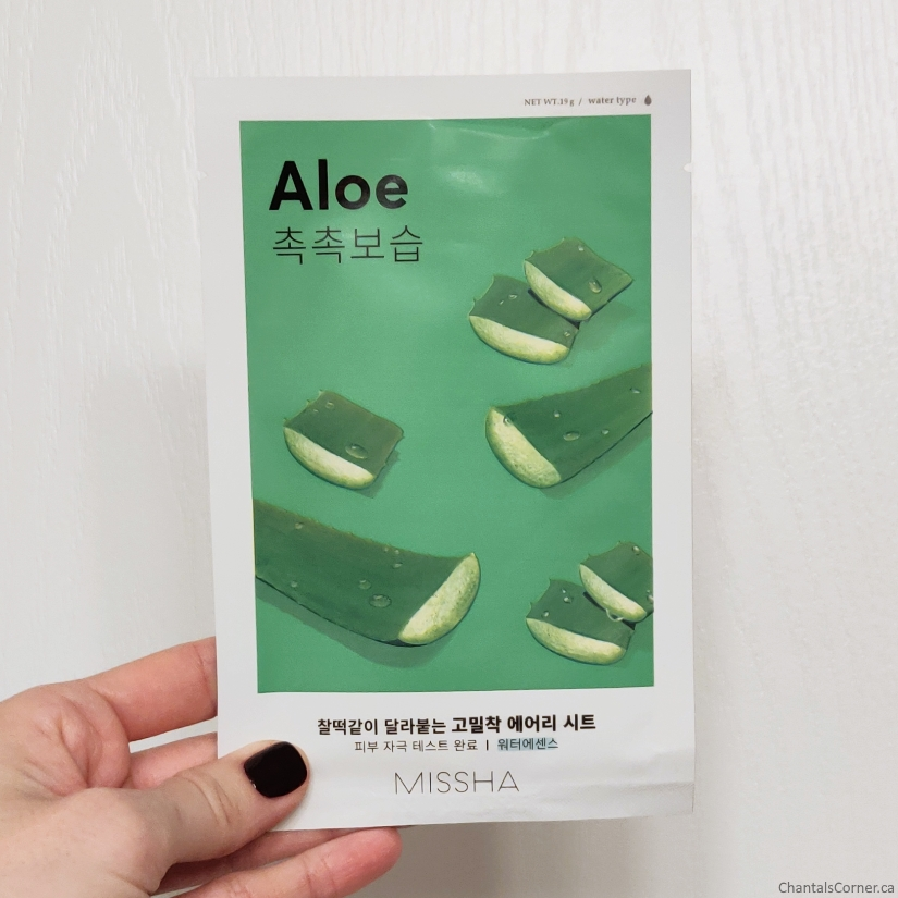 Missha Airy Fit Sheet Mask in Aloe