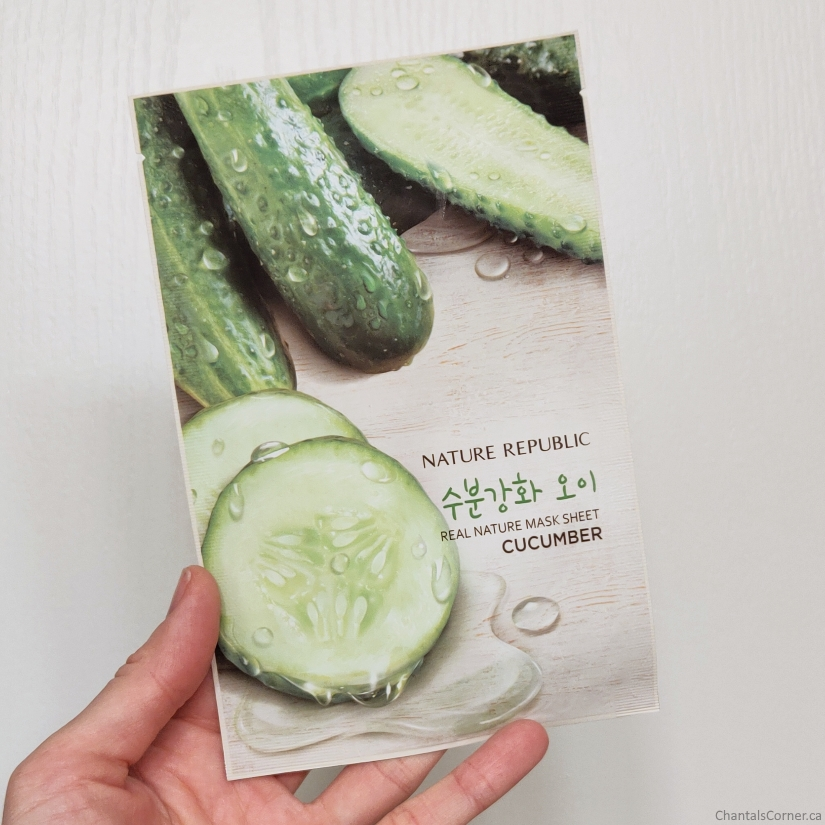Nature Republic Real Nature Mask Sheet in Cucumber